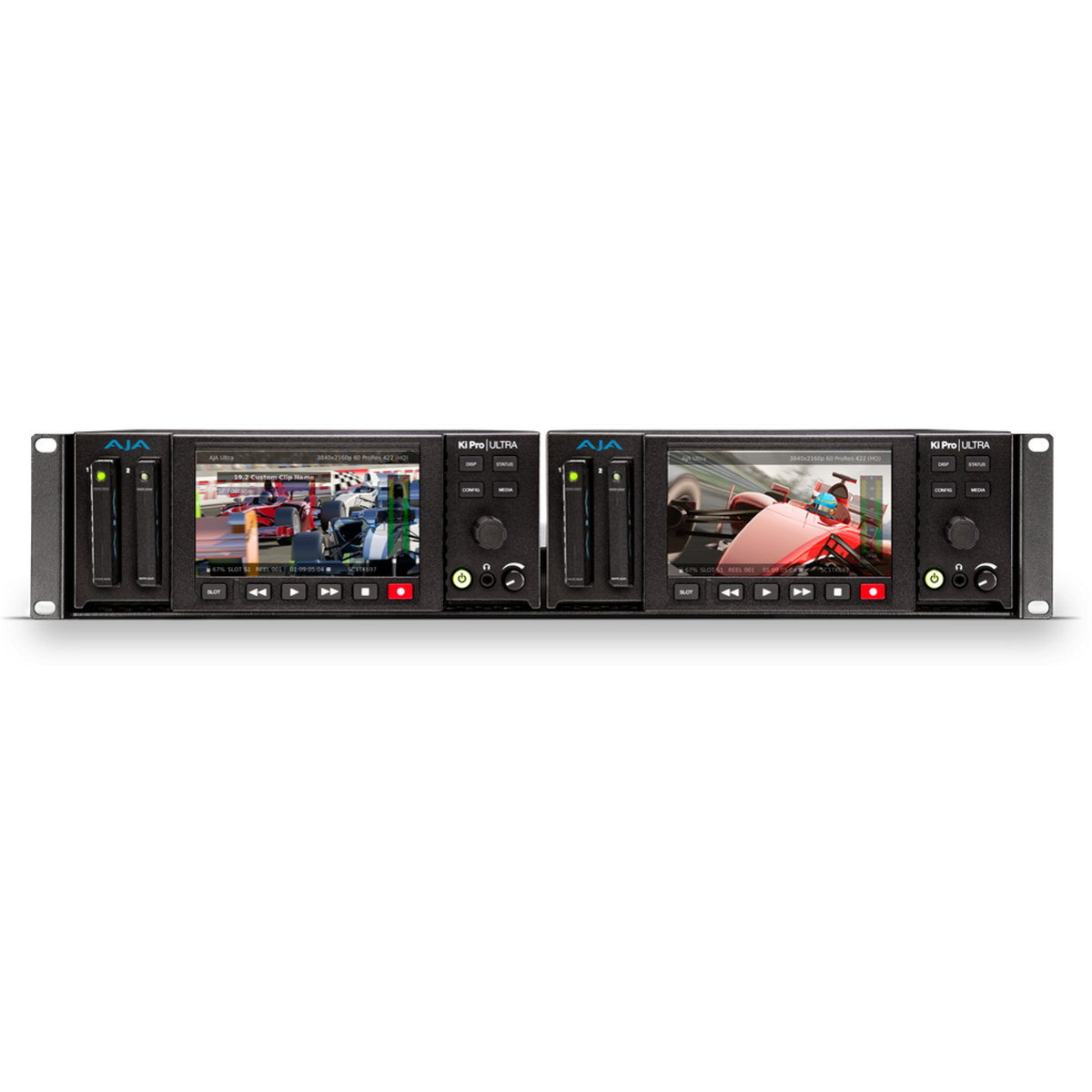 4K 60p Support AJA Ki Pro Ultra 4K Video Recorder and Player with ...