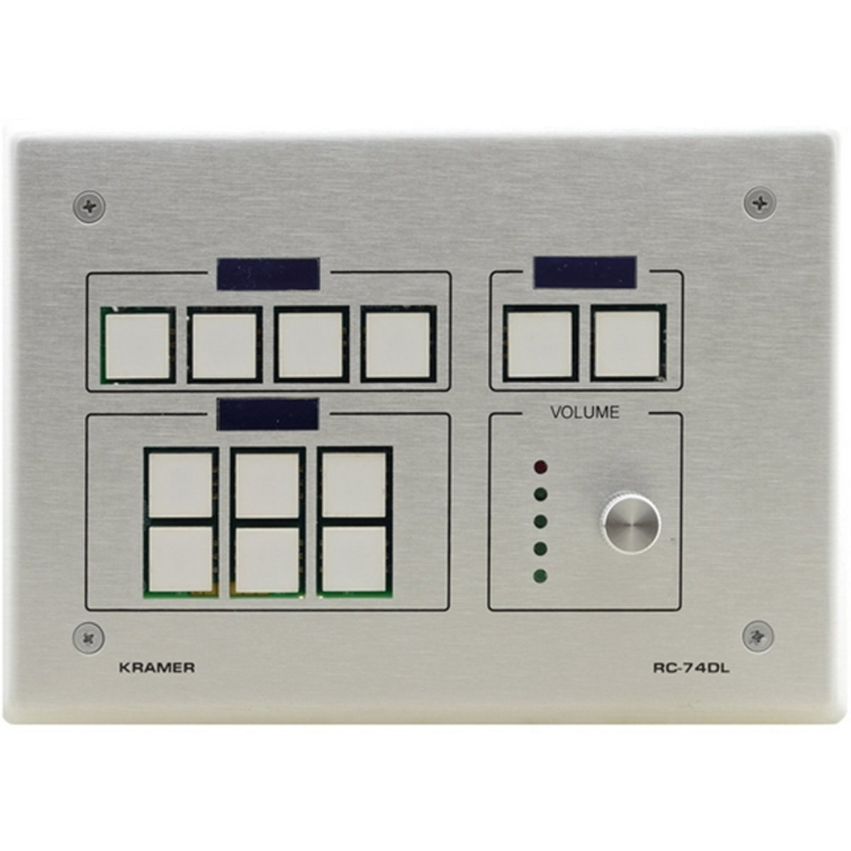 Buy Kramer RC-74DL: 12-Button Master Room Controller with