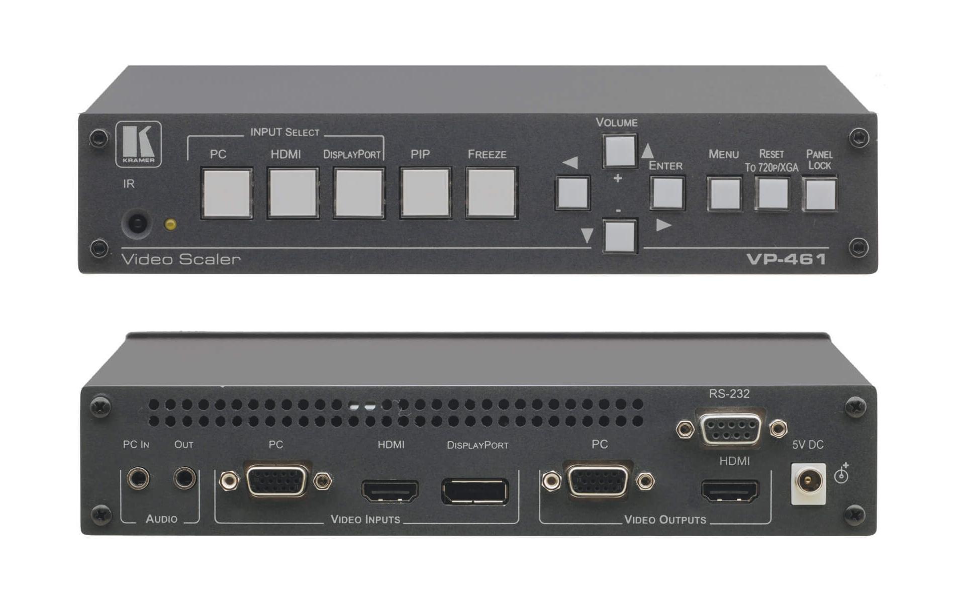 Buy Kramer VP-461: 3-Input Analog & HDMI ProScale™ Presentation  Switcher/Scaler