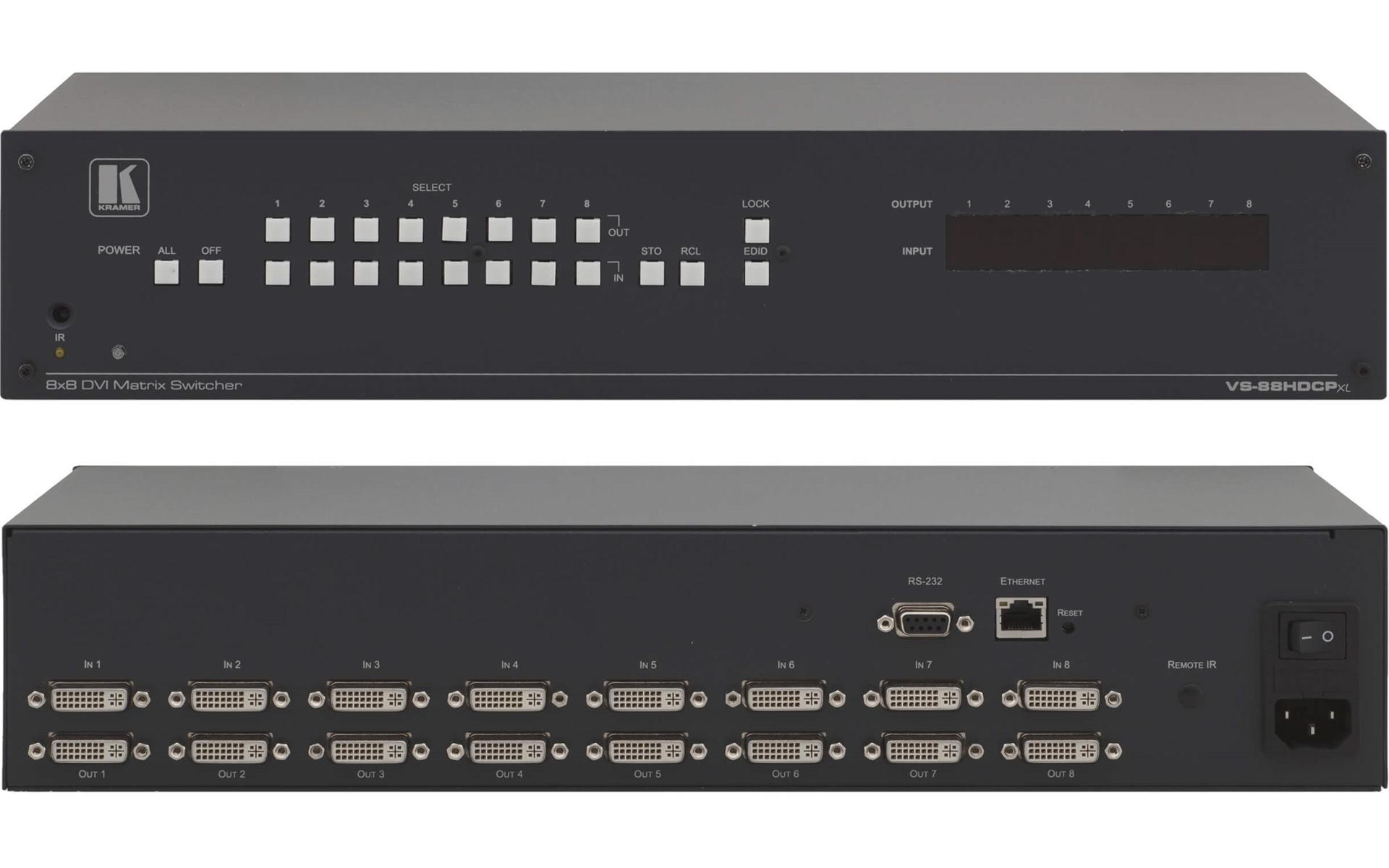 Buy kramer vs 88hdcpxl 8x8 dvi matrix switcher hdcp hdmi v 14 kramer vs 88hdcpxl 8x8 dvi matrix switcher hdcp hdmi v 14 publicscrutiny Gallery
