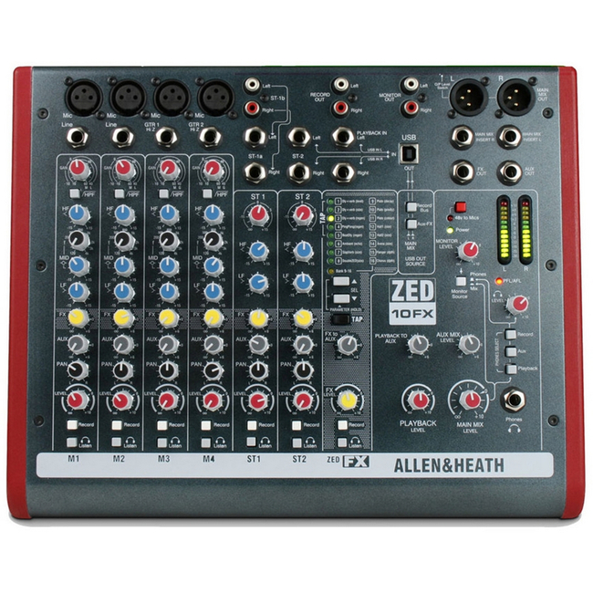Allen and Heath: ZED-10FX