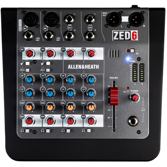 Allen and Heath: ZED-6