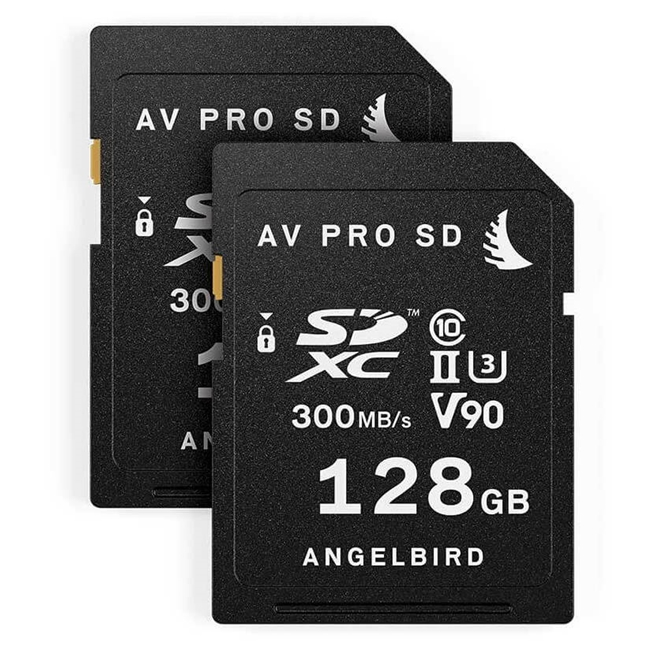 Angelbird Match Pack for Panasonic GH5/GH5S 128 GB | 2 PACK 2 x SD 128GB cards