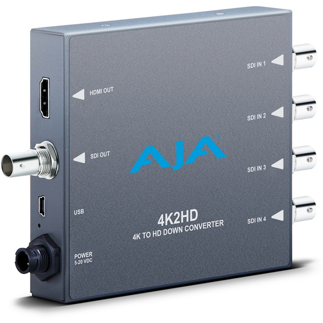 AJA: 4K2HD 4K to HD down-conversion Mini-Converter