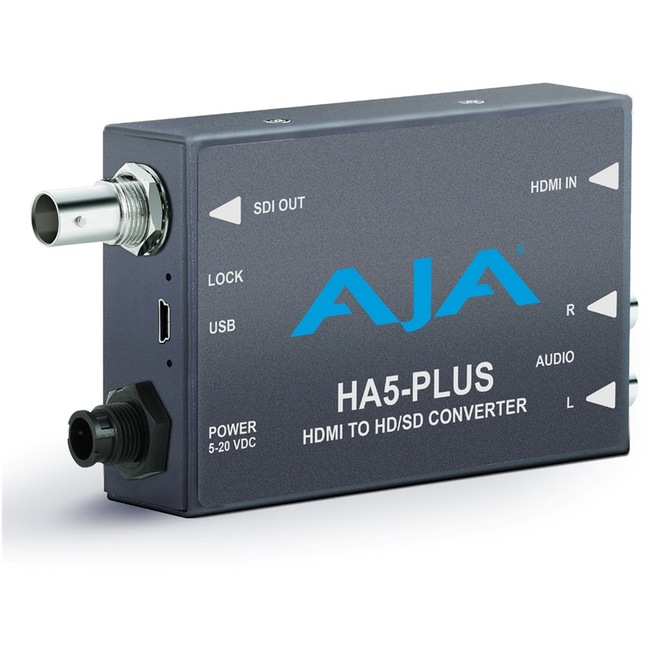 AJA: HA5-Plus HDMI to 3G HD-SDI