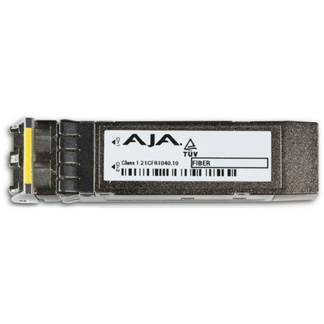 AJA: HDBNC-2TX-12G 12G Transmitter on BNC SFP (for use with FS4)