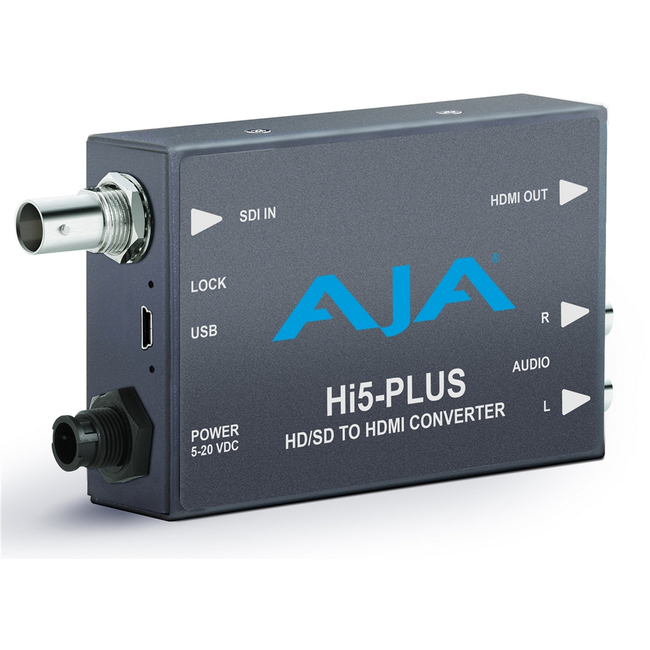 AJA: HI5-PLUS 3G HD-SDI to HDMI Converter