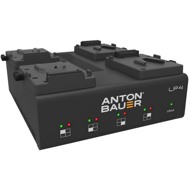 Anton Bauer LP4 Quad V- Mount Charger