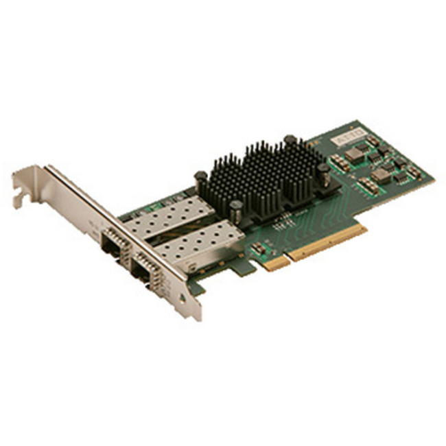 ATTO FastFrame™ Dual Channel x8 PCIe 2.0 10GbE LC SFP+ SR Interface (low-profile)