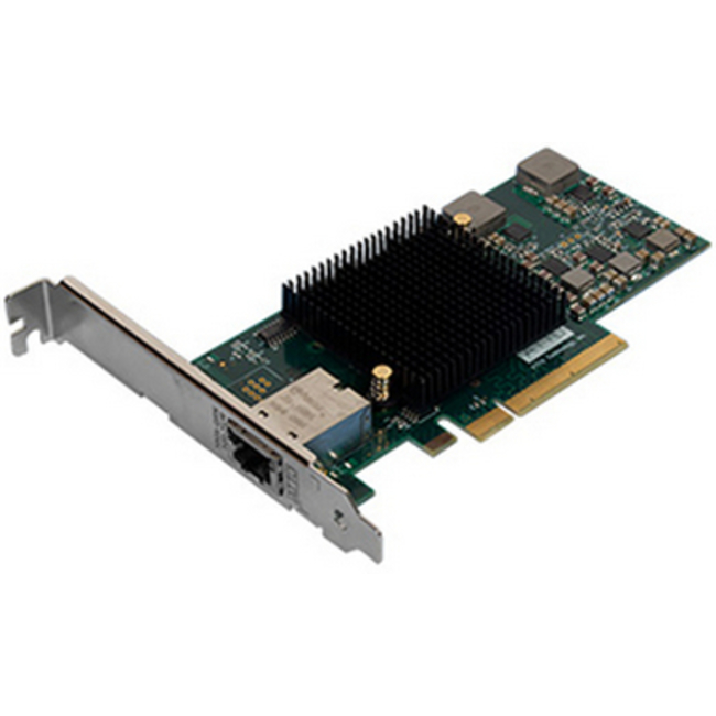 ATTO FastFrame™ Single Channel x8 PCIe 10Gb Ethernet NIC Low Profile RJ45 Interface