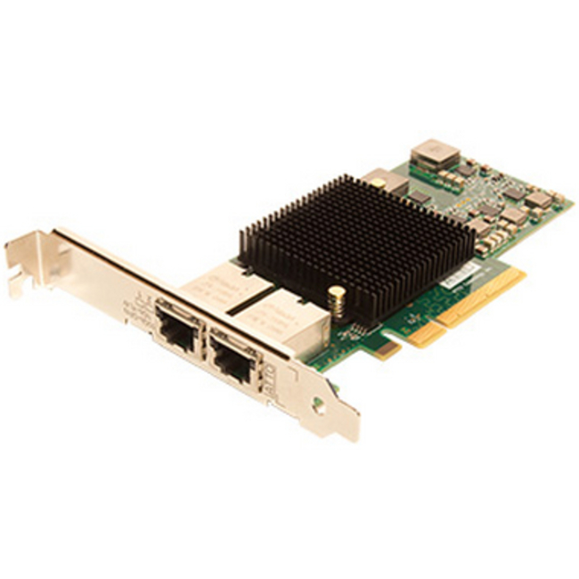 ATTO FastFrame™ Dual Channel x8 PCIe 10Gb Ethernet NIC Low Profile RJ45 Interface