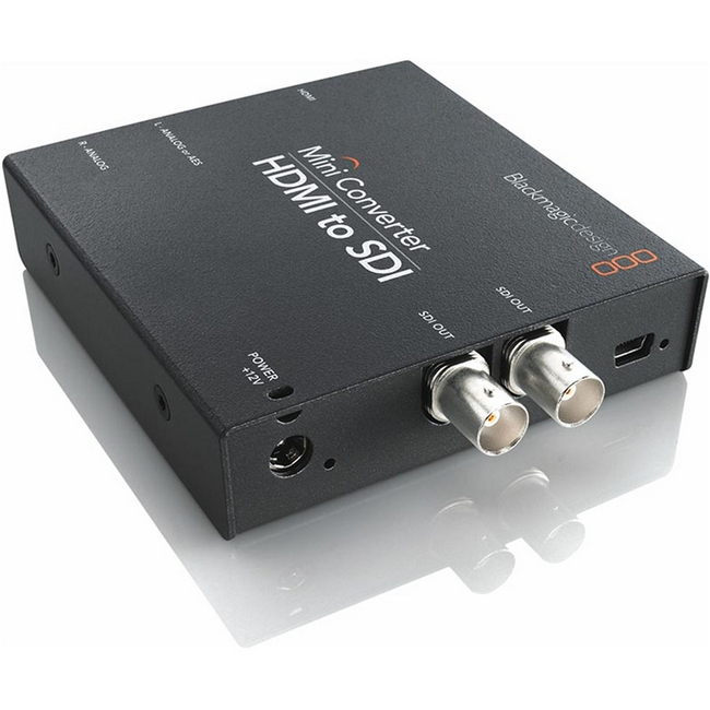 Blackmagic: Hdmi To Sdi Mini Converter