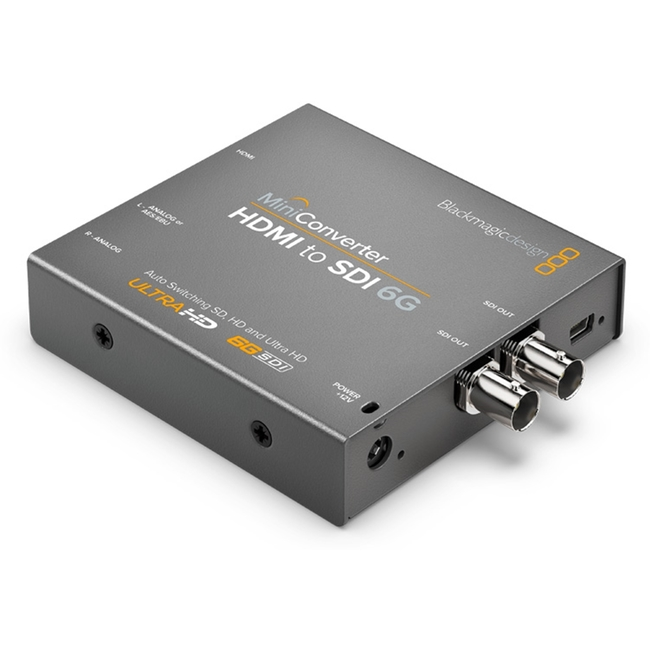 Blackmagic: Hdmi To Sdi 6G Mini Converter