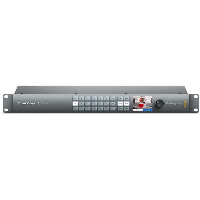 Blackmagic: Smart Videohub 20x20