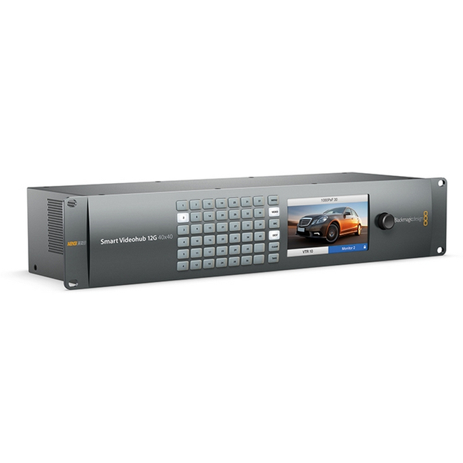 Blackmagic: Smart Videohub 12G 40X40