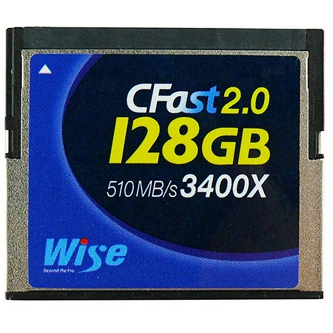Cfast 2.0 128Gb Card - Blackmagic Ursa Canon C300mkii & Canon Xc-10 Compatible