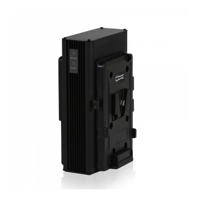 CoreSWX GP Mobile Single Position On-Board V-Type Charger with 90w Camera Power Supply and XLR ...