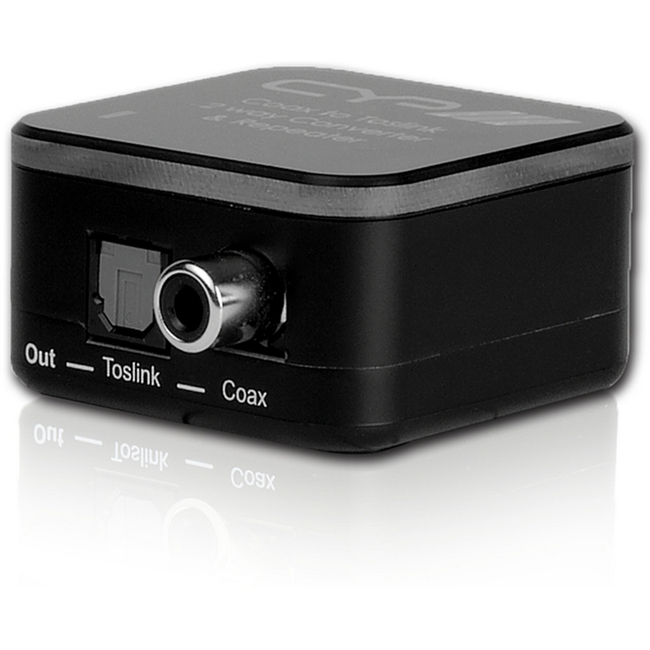 CYP: Digital Audio Coaxial/Optical Converter