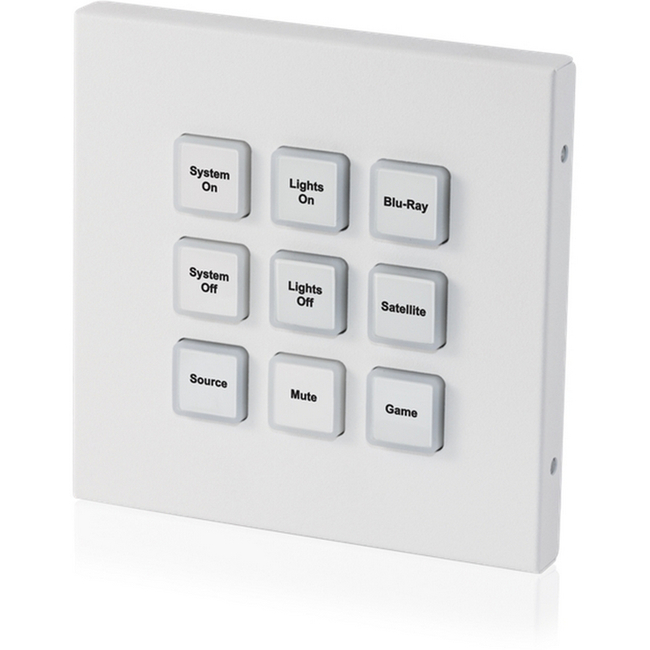 CYP: CR-KP2 9 Button Wall-mount Keypad Control System (UK Single Gang)