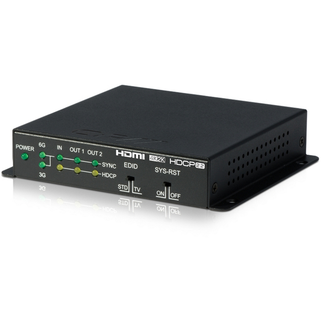 CYP: QU-2-4K22 1 to 2 HDMI Distribution Amplifier