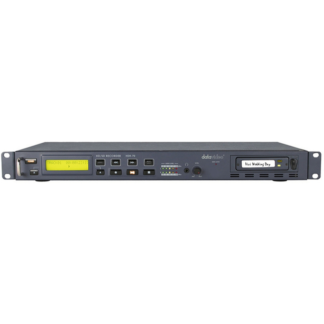 Datavideo: HDR-70 Rackmount HD-SD/SDI Recorder