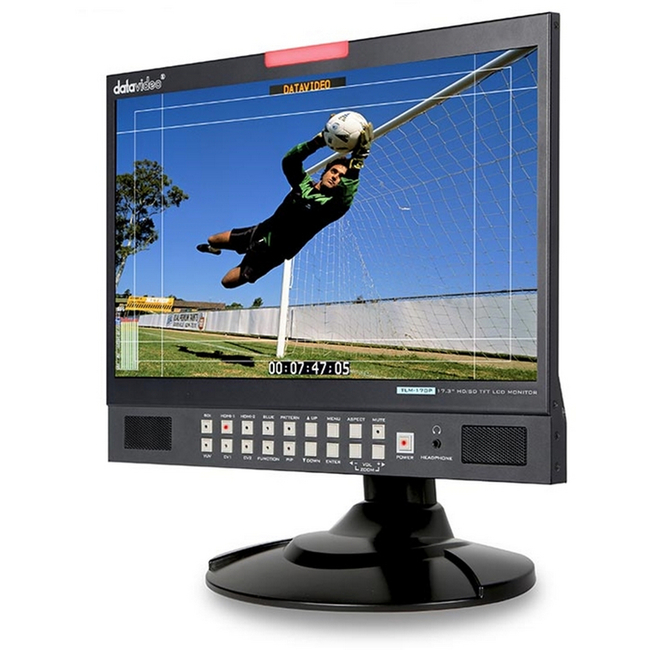 "Datavideo: TLM-170P 17.3"" Desktop monitor - supports 1080P"