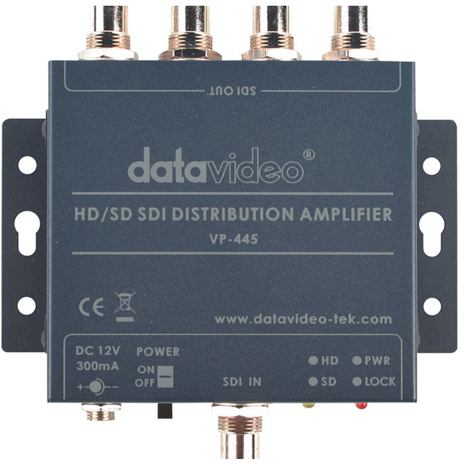 Datavideo: VP-445 HD-SDI Distribution Amplifier