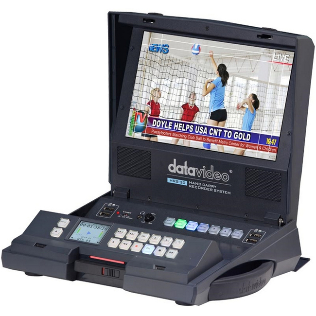 Datavideo: HRS-30 Field Monitor & HDD/SSD Recorder - 0TB
