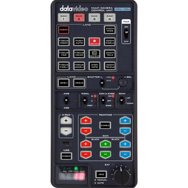 Datavideo: MCU-100J Camera Control Unit for JVC Cameras
