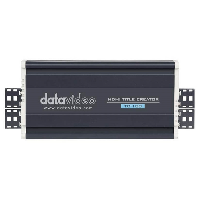 Datavideo TC-100 HDMI Title overlay Box - No PCI card required.