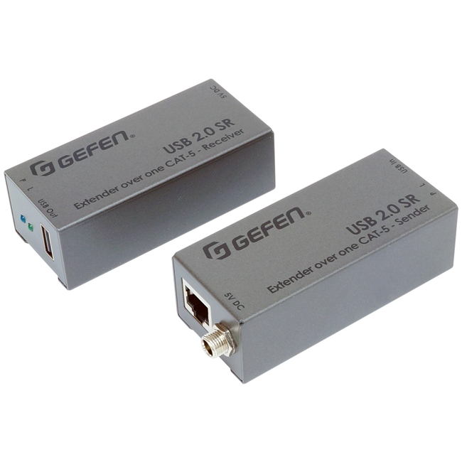 Gefen: USB 2.0 SR Extender over one CAT-5