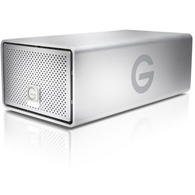 G-Technology: G-RAID Removable 20TB Thunderbolt 2 & USB 3.0 Silver EMEA