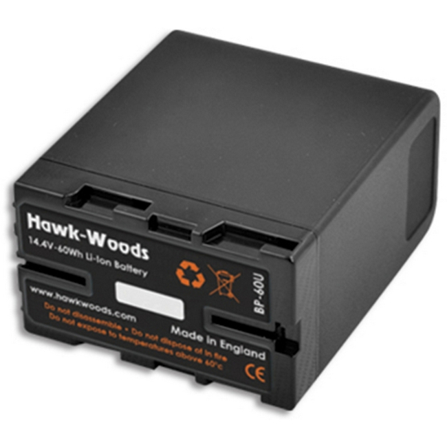 Hawk-woods: BP-60U  - BP 60W Battery Pack — (Sony BP-U Type)