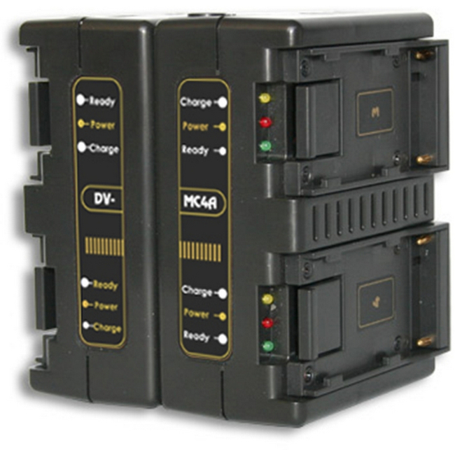 Hawk-woods: DV-MC4A  - Canon BP Battery Charger — 4-Channel Simultaneous