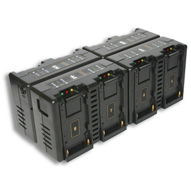 Hawk-woods: DV-MC8 - Sony NP-F Battery Charger — 8-Channel Simultaneous