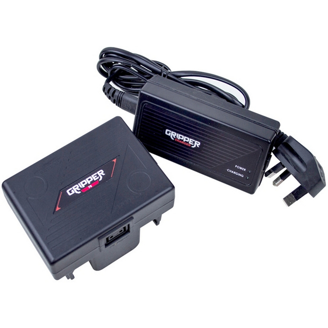 Hawk-woods: GR-75K - Gripper 14.4v 75Wh Battery including Single Ch Fast Charger