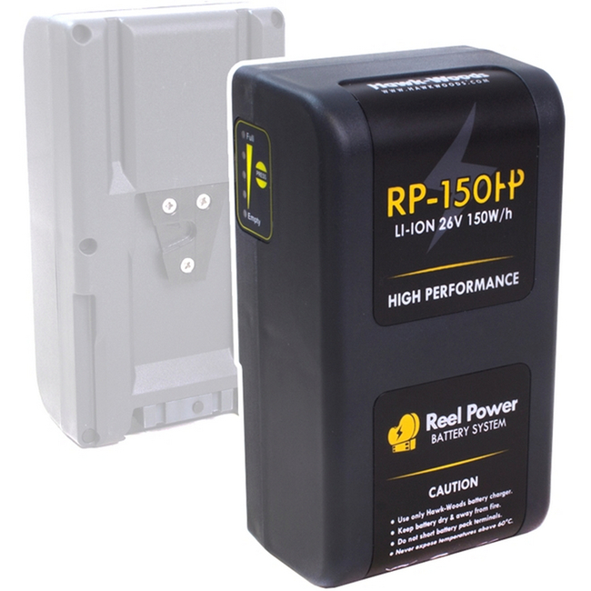 Hawk-woods: RP-150H - Reel-Power 26v 150wh Battery  (H-Series)