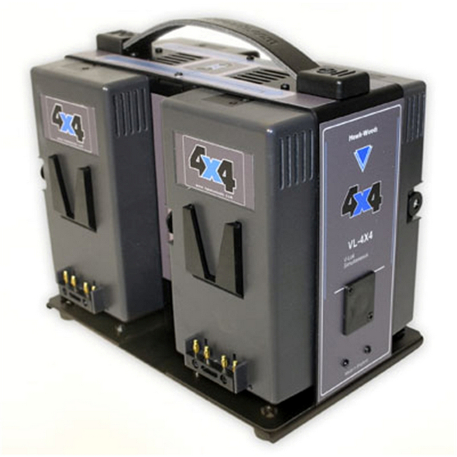 Hawk-woods: VL-4X4 - 4-Channel V-lok Lithium-Ion Fast Charger Simultaneous