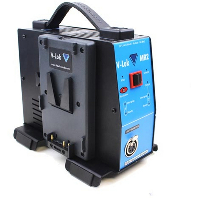 Hawk-woods: VL-MR2 - 2-Channel V-lok Lithium-Ion Fast Charger & 60W PSU (In-car)