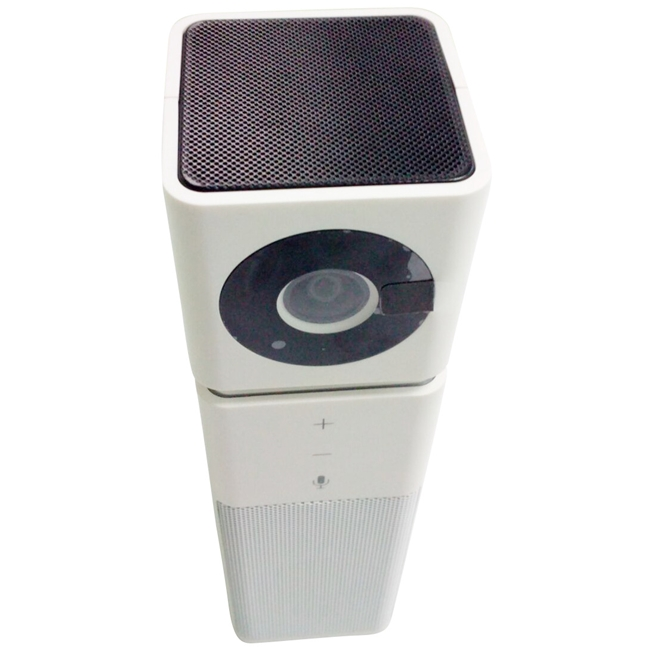 Huddlecam: HD Webcam with Microphone and Speaker (White)
