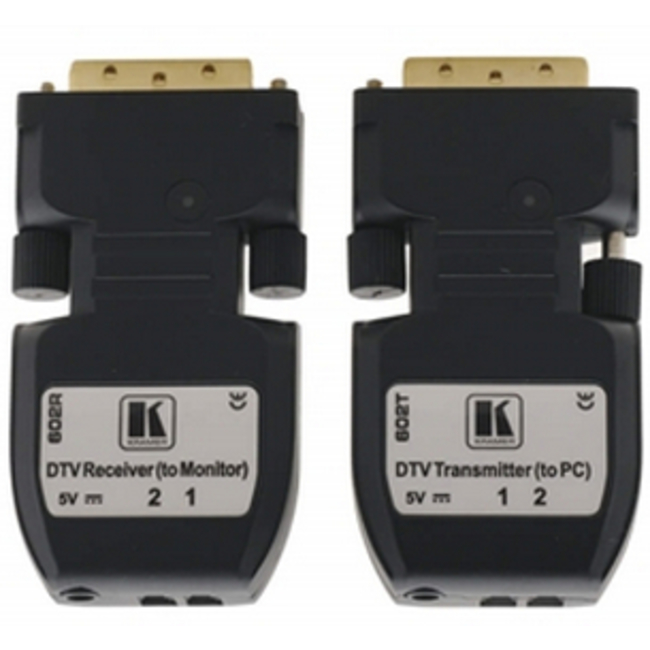 Kramer: 602RT Detachable DVI Optical Transmitter & Receiver