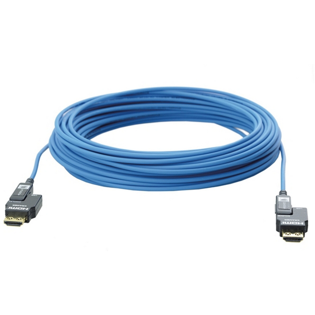 Kramer: LSHF 4K/30Hz Fibre-Optic HDMI (M-M) Cable (Detachable ends)