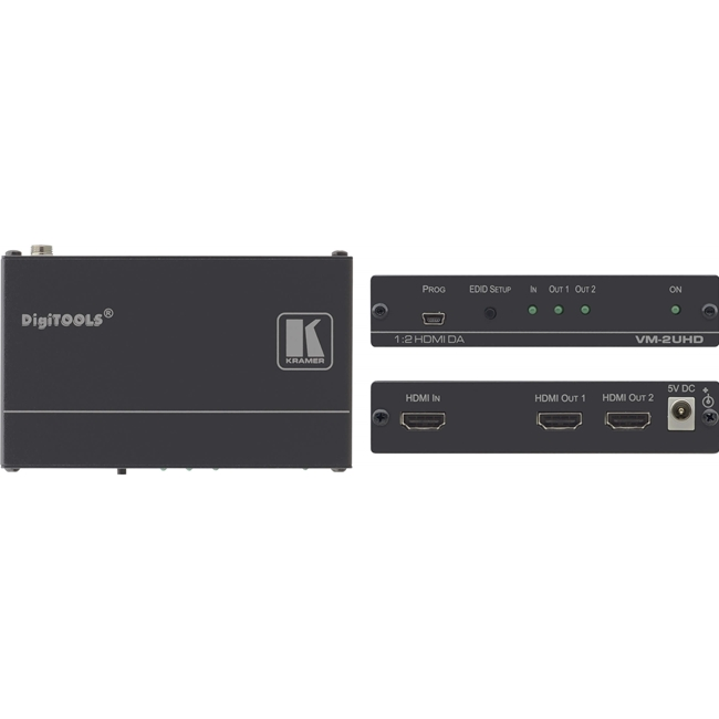 Kramer VM-2UHD: 4K 60Hz 1: 2 HDMI Distribution Amplifier