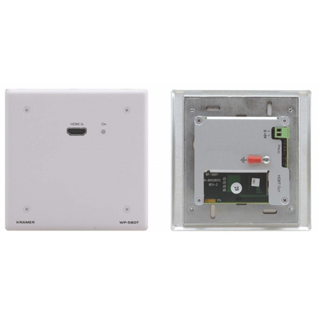 Kramer: WP-580T Active Wall Plate - HDMI over HDBaseT Transmitter