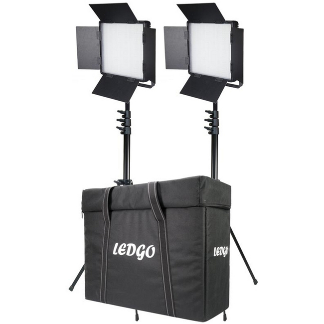 LEDGO 600BCLK2: Two Light 600 Bi-Colour Location Lighting Kit