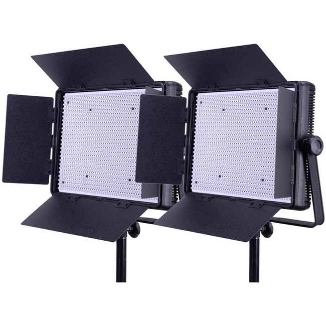 Datavision: LEDGO Two Light 1200 Daylight Location Lighting Kit