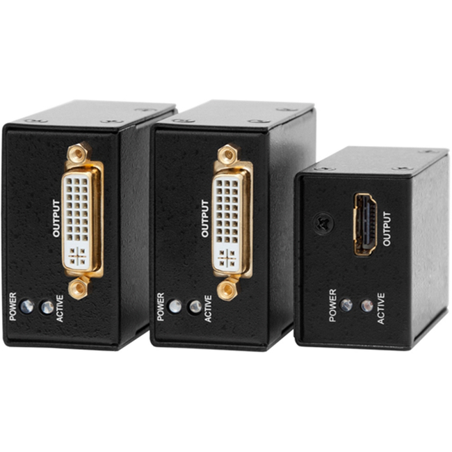 Lightware: Active Dual-Link DVI cable extender. Extends DVI cable up to 50m. HDMI, 120Hz 3D and...