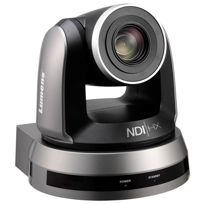 Lumens VC-A50P High Definition PTZ Video Camera with NDI (Black)