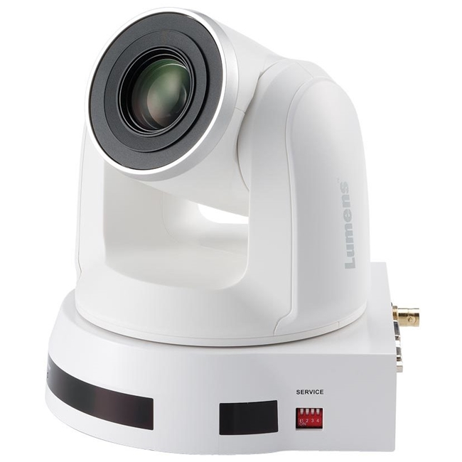 Lumens VC-A60S High Definition PTZ Video Camera (White)
