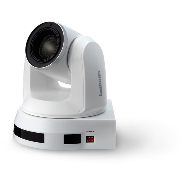 Lumens VC-A70H High Definition PTZ Video Camera (White)